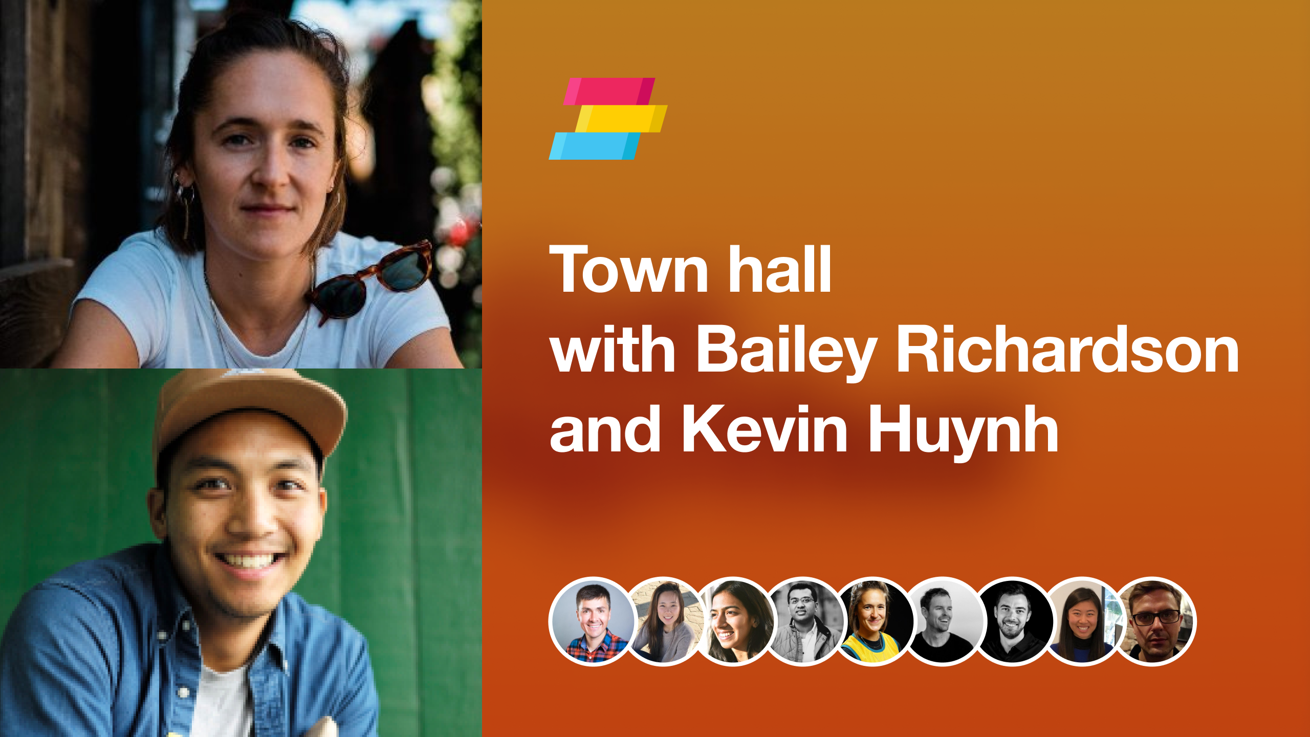 Bailey Richardson and Kevin Huynh on building communities by finding your hand-raisers